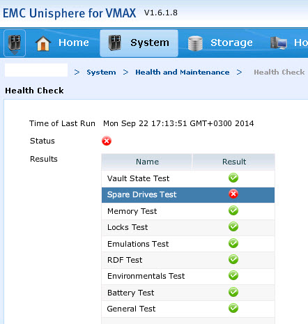 EMC VMAX – Identify Failed Drive Location – DavidRing ie