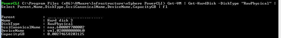 VMware PowerCLI – Adding RDM Disk's – DavidRing ie
