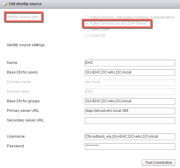 vCenter 6 0 – Active Directory Identity Source – DavidRing ie