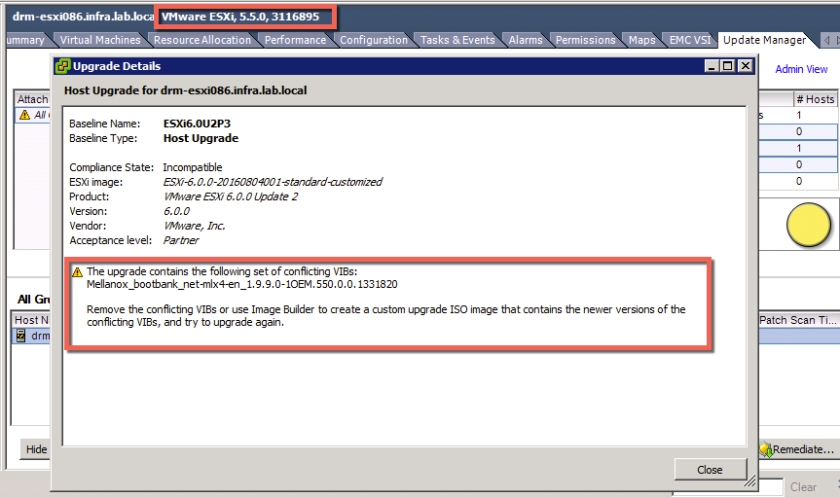 EXSi 5 5 to 6 0 Upgrade: Remove Mellanox Conflicting VIBs – DavidRing ie