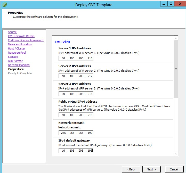 ViPR 3.6 Install & Config10