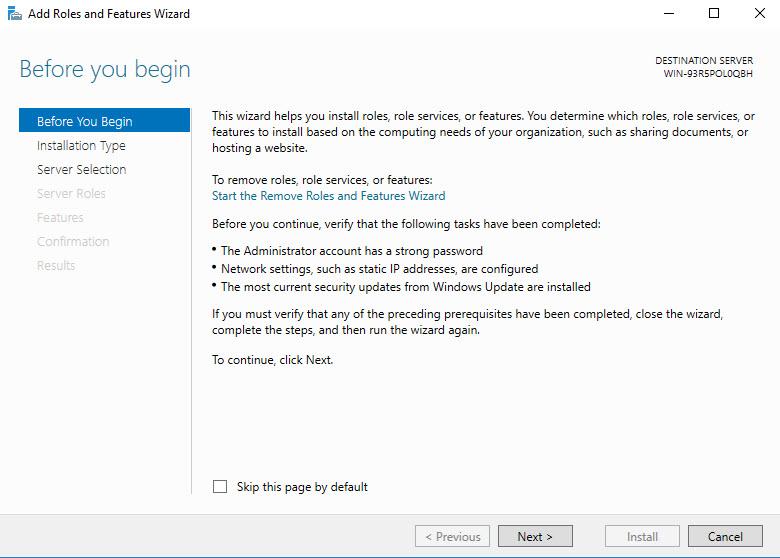 nfs version windows server 2012